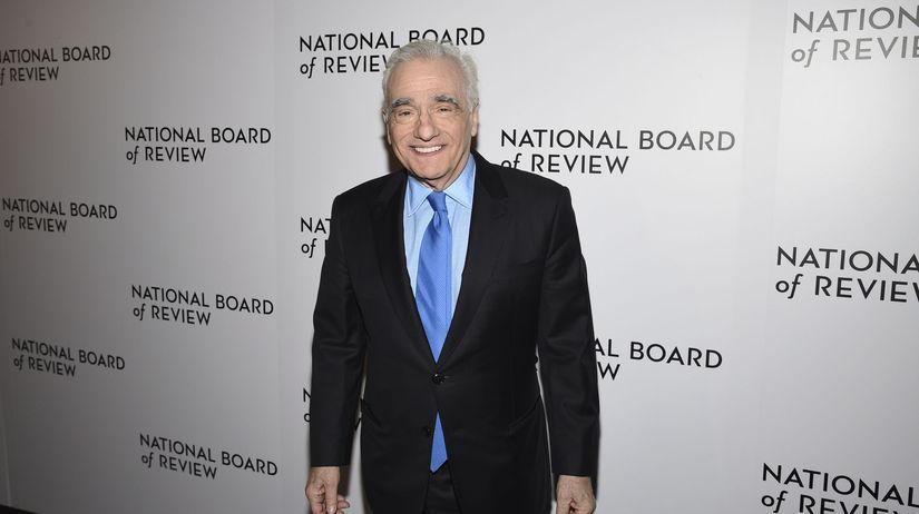 Režisér Martin Scorsese na vyhlásení National...