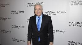 Režisér Martin Scorsese na vyhlásení National Board of Review Awards.