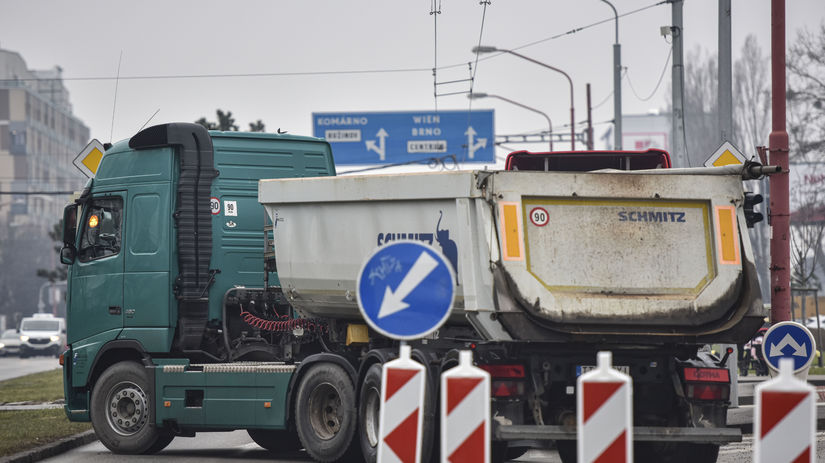 SR Bratislava Rožňavská UNAS protest blokáda BAX