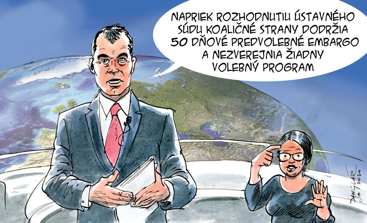 Karikatúra 10.01.2020