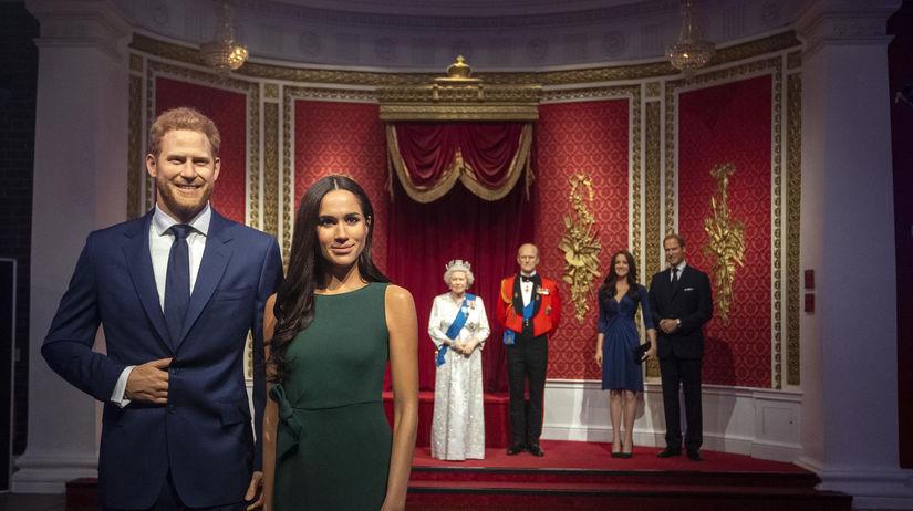 Princ Harry a jeho manželka Meghan v podobe...