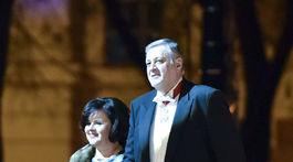 Diplomat Ján Kubiš s manželkou Jaroslavou.