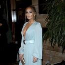 Herečka a speváčka Jennifer Lopez na vyhlásení cien Los Angeles Film Critics Association Awards.
