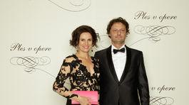 Iľja Skoček, architekt, predseda Slovenskej komory architektov s manželkou Andreou
