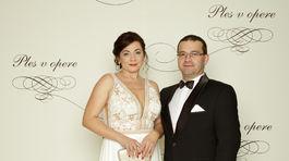 Riaditeľ Horskej záchrannej služby Jozef Janiga a jeho manželka Ingrid.