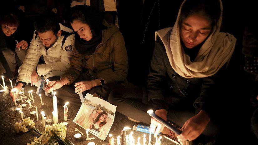 teherán, obete, sviečky