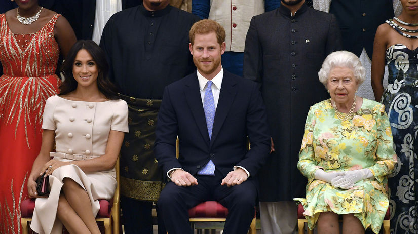 Záber z roku 2018. Britská kráľovná Alžbeta II....