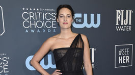 Herečka Phoebe Waller-Bridge v kreácii Christian Dior Haute Couture.