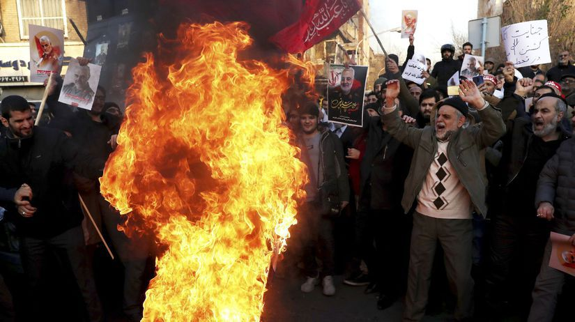 Irán teherán, protest, demonštrácia