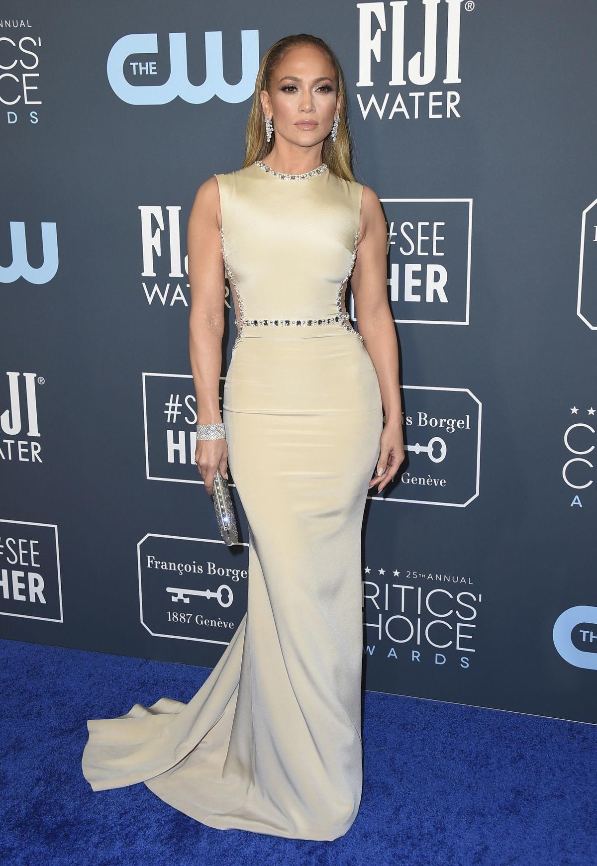Speváčka a herečka Jennifer Lopez.