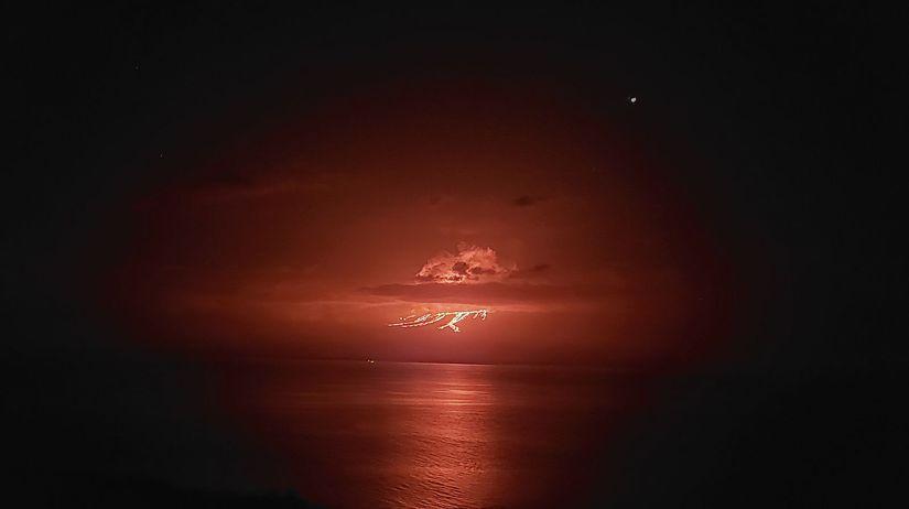 Ekvádor Galapágy sopka erupcia