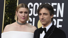 Greta Gerwig a jej partner - režisér a scenárista Noah Baumbach