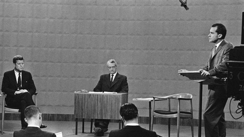 John Franklin Kennedy, Richard Nixon, TV duel