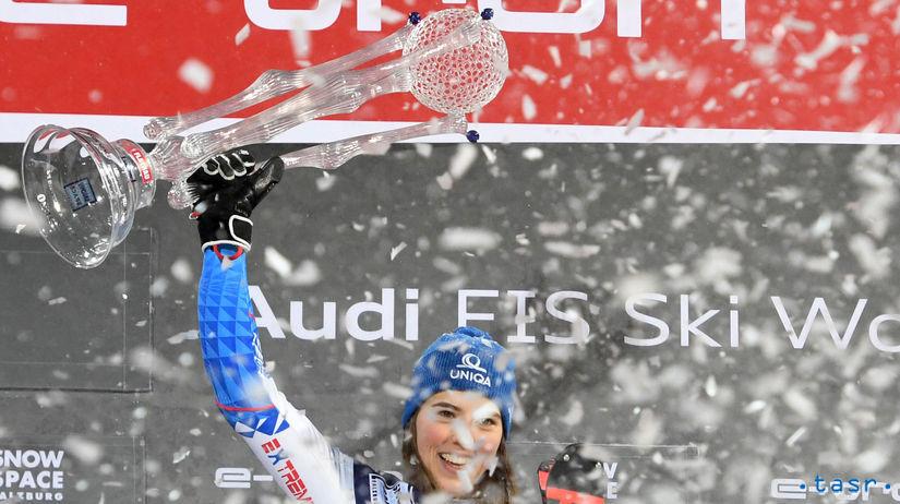 Rakúsko SR nočný slalom ženy SP 2. kolo