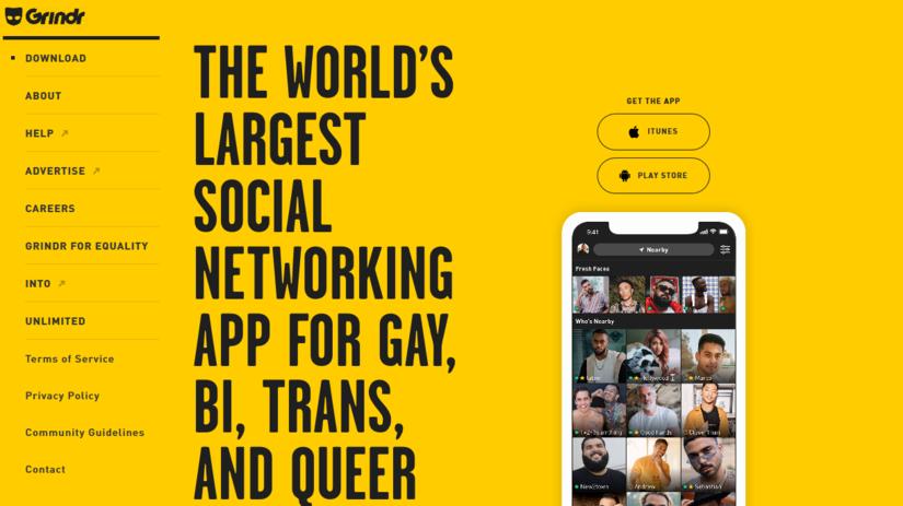 Grindr, online zoznamka, LGBT