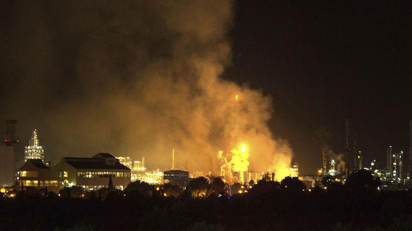 Španielsko továreň chemická výbuch