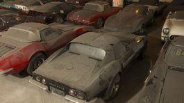 Chevrolet Corvette - zachránená zbierka 36 kusov