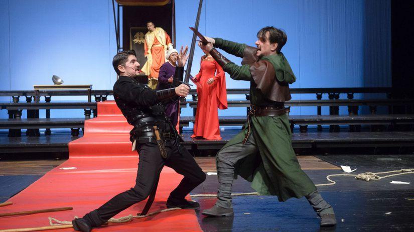 Robin Hood, Divadlo Andreja Bagara