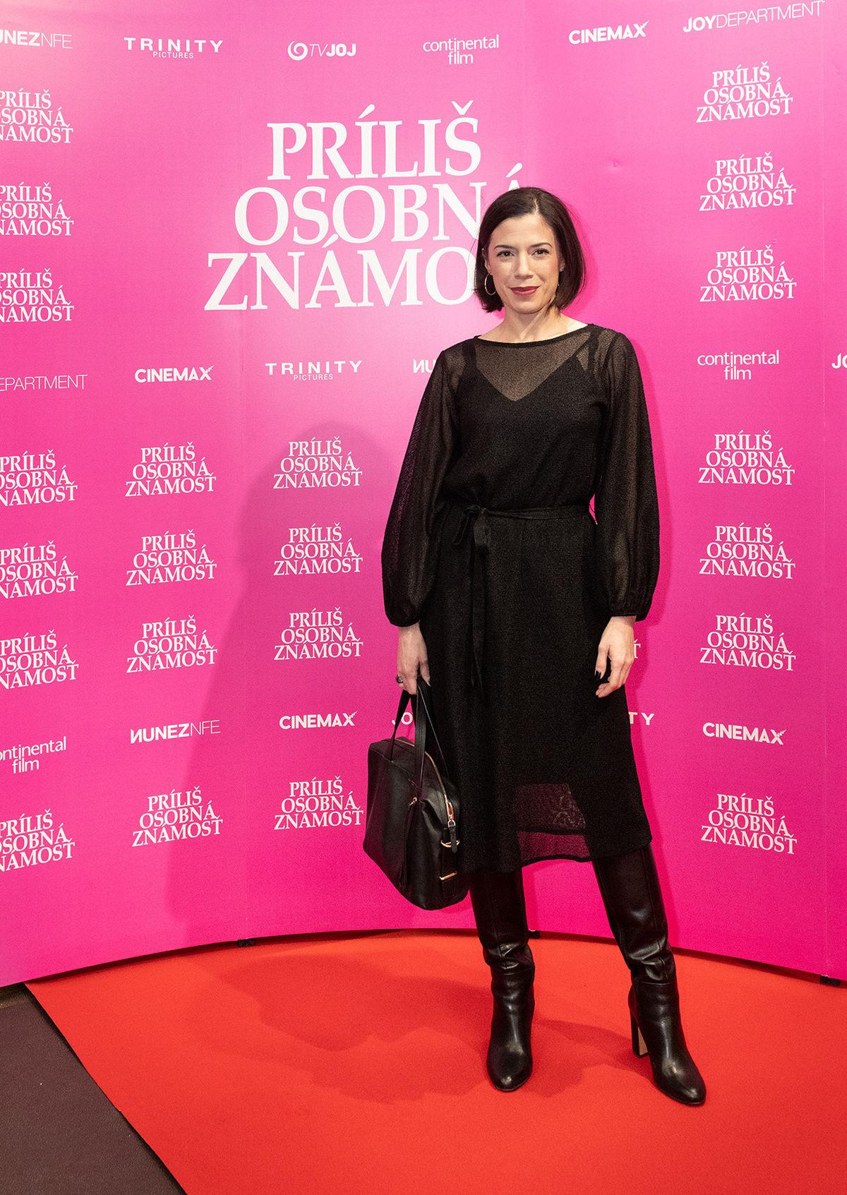 Herečka Michaela Majerníková.