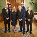 novoročný obed s bývalými prezidentmi