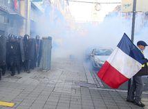 francúzsko protest demonštrácia žlté vesty