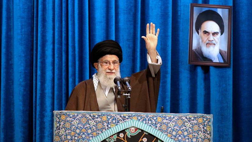 Iránsky ajatolláh Alí Chameneí