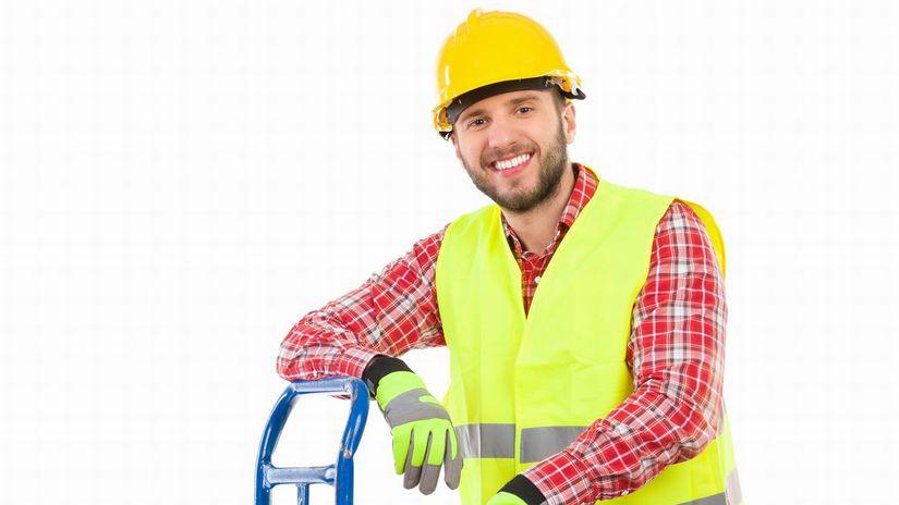 muž, sklad, práca, zamestnanie