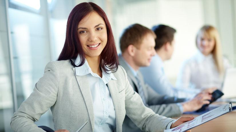 žena, práca, podnikanie, študentka
