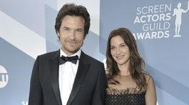 Herec Jason Bateman a jeho manželka Amanda Anka.
