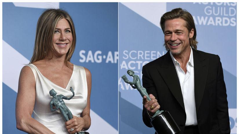Herečka Jennifer Aniston s cenou SAG za výkon v...