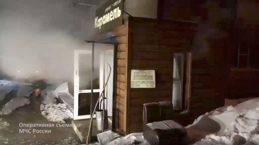 Perm, havária potrubia
