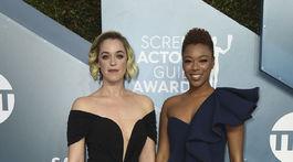 Scenáristka Lauren Morelli a jej manželka - herečka Samira Wiley.