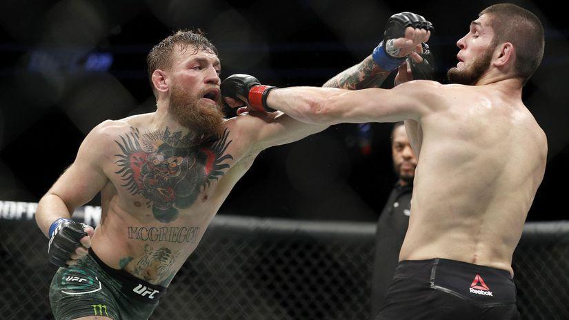 UFC McGregor Chabib