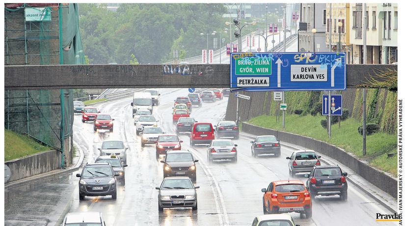 doprava, Bratislava, cesty, premávka