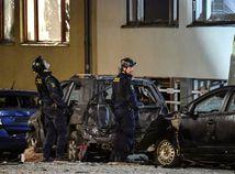 švédsko štokholm výbuch