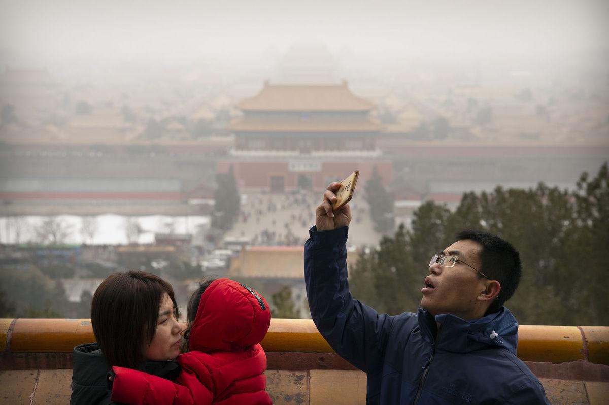 Čína, turisti, Peking, Zakázané mesto