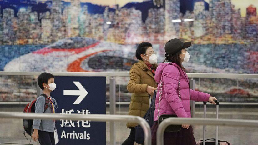 Hongkong čína vírus rúško