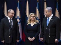 Izrael holokaust Jad va-šem, Putin, Netanjahu