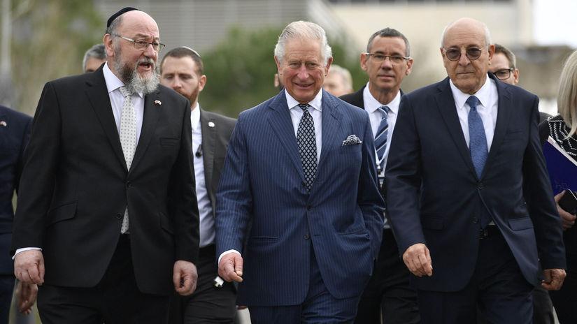 izrael jeruzalem fórum princ Charles  rabín...