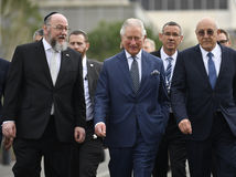 izrael jeruzalem fórum princ Charles  rabín Ephraim Mirvis