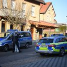 nemecko rot am see streľba polizei polícia