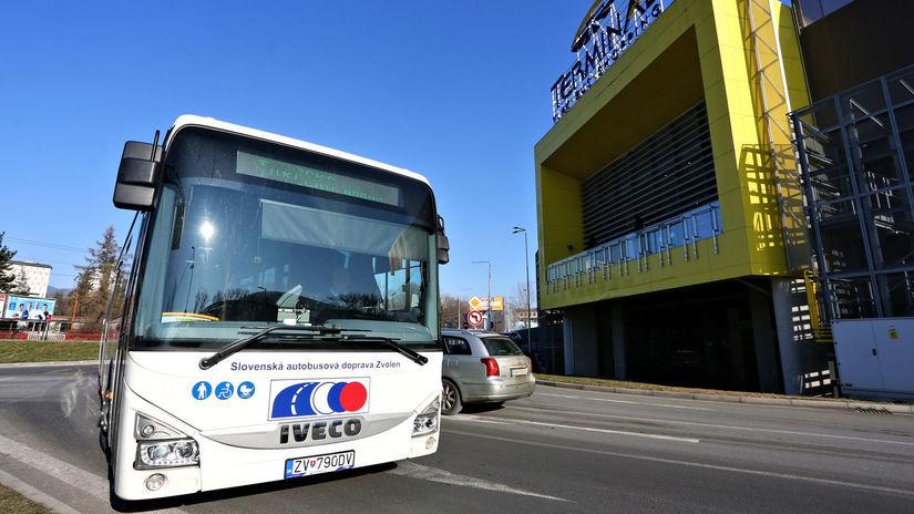 SAD Zvolen, autobus, Banská Bystrica