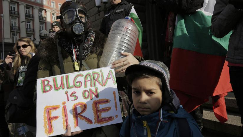 Bulgaria Protest Water Crisis