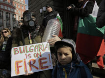 Bulgaria Protest Water Crisis