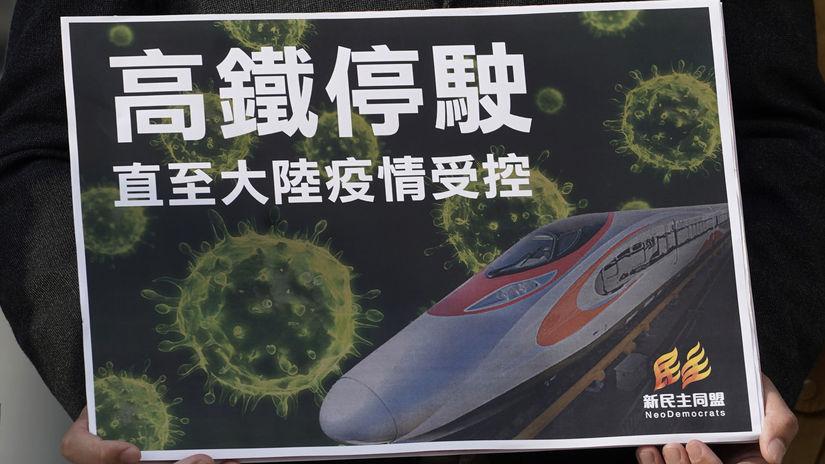 Čína / vírus / plagát /