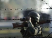 India / Pakistan / vojak / stráž / patrola /