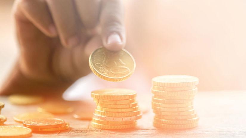 peniaze, euro, mince, centy
