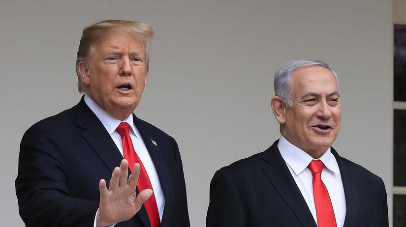 Donald Trump / Benjamin Netanjahu /