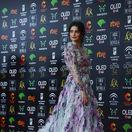 Španielska herečka Penelope Cruz očarila v kreácii Ralph & Russo Haute Couture.