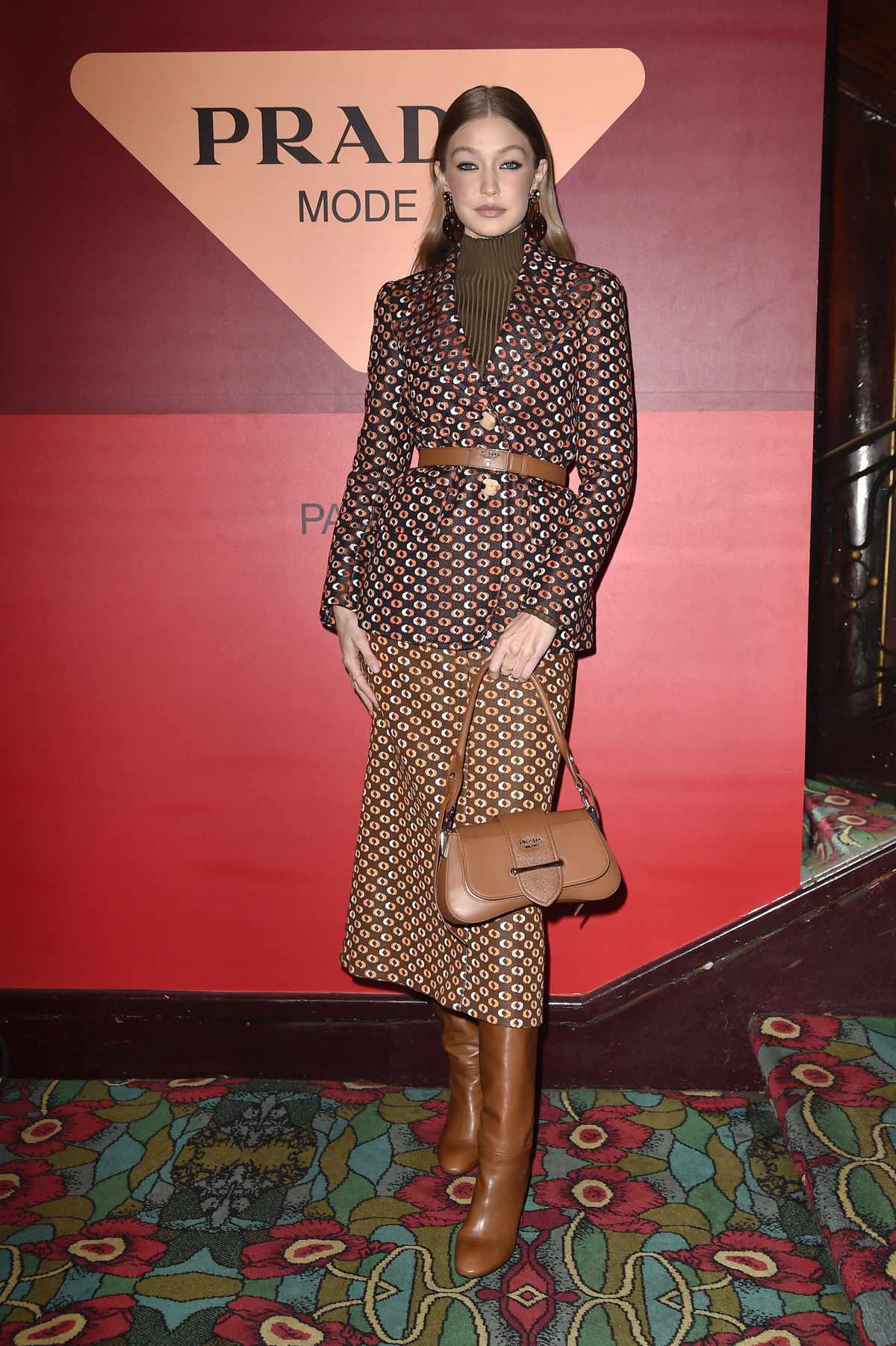 Topmodelka Gigi Hadid na akcii módnej značky...